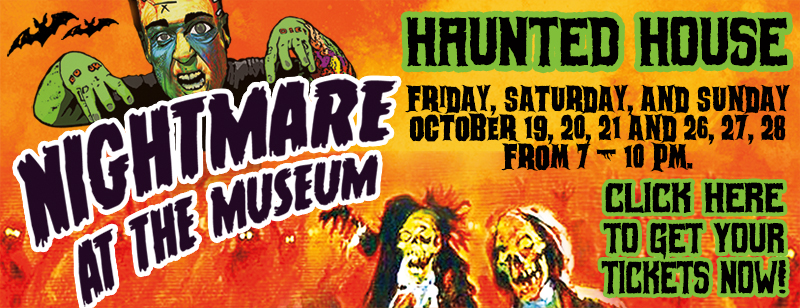 Haunted House Tickets On Sale Now! Click Here!